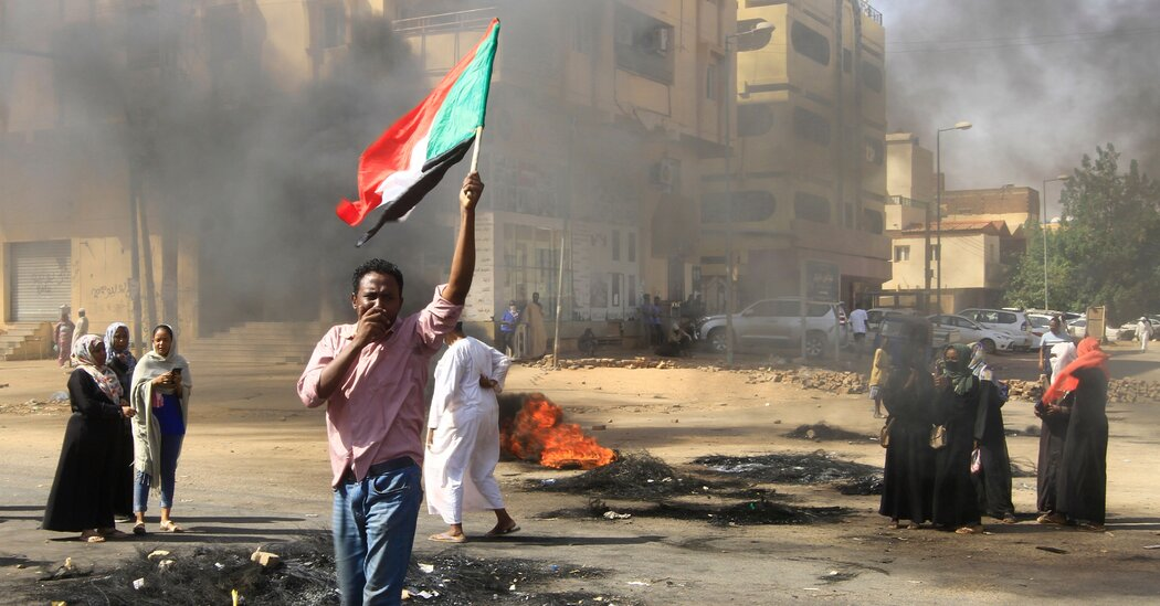 Sudan's Shuttered Capital Pauses Before a Fresh Day of Protest